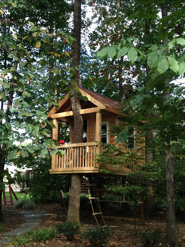 The first steps to build the perfect treehouse home First step to building a house