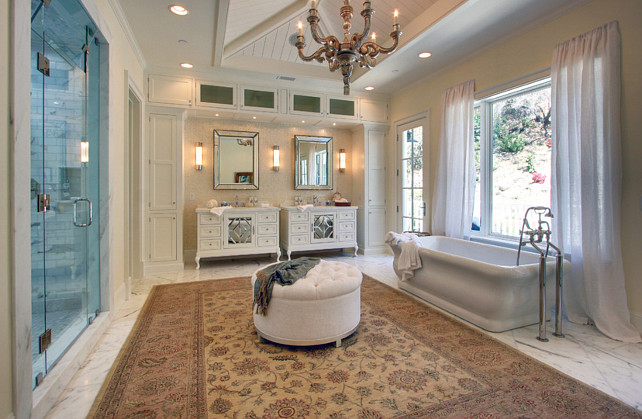 Big Bathroom. Big Bathroom Layout. Big Bathroom Ideas. Big Bathroom Design. Big Bathroom. #BigBathroom White Picket Fence, Inc.