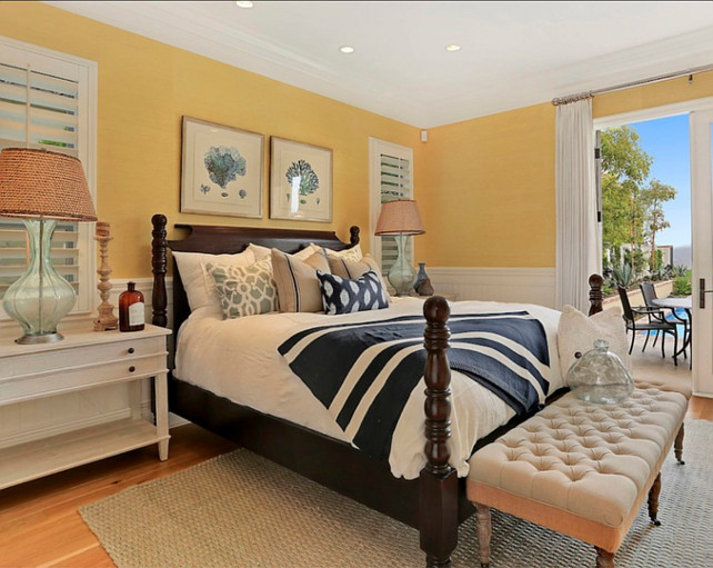 coastal bedroom designed