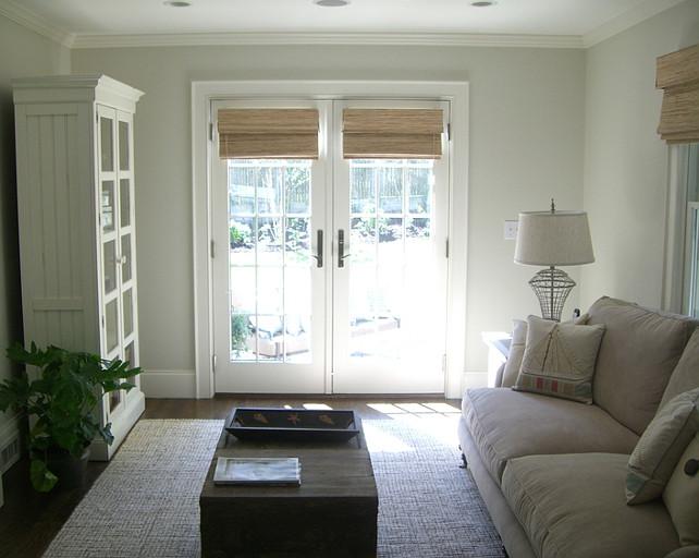 Bm White Dove. Great white paint color for interiors Bm White Dove OC17. #BMWhiteDove