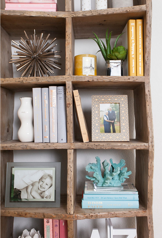 Bookcase Decor Ideas. Living room bookcase decor. Coastal living room bookcase decor. #Bookcase #Livingroom Butter Lutz Interiors, LLC.