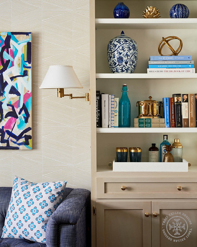 Bookcase Decorating Tips. How to decorate bookcase like a pro. #bookcasedecoratingtips #bookcasedecor #Bookcase #Decor Traci Zeller.
