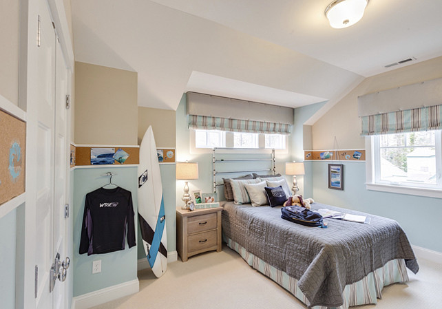 Boys Bedroom. Coastal Inspired Boys Bedroom. Beach Boys Bedroom Ideas. #BoysBedroom #BoysbedroomIdeas #CoastalBoysBedroom #BeachBoysBedroom