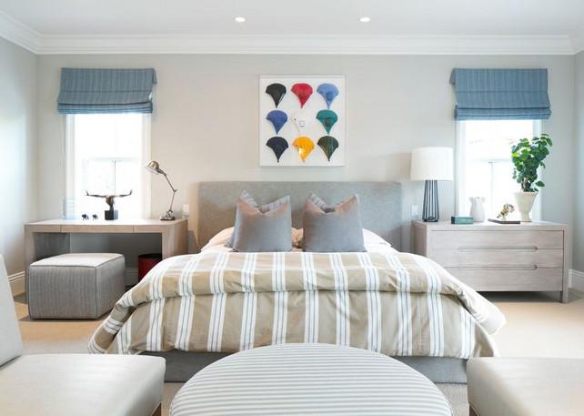 Boys Bedroom. Modern Grey Boys Bedroom. #BoysBedroom Kelly Nutt Design.