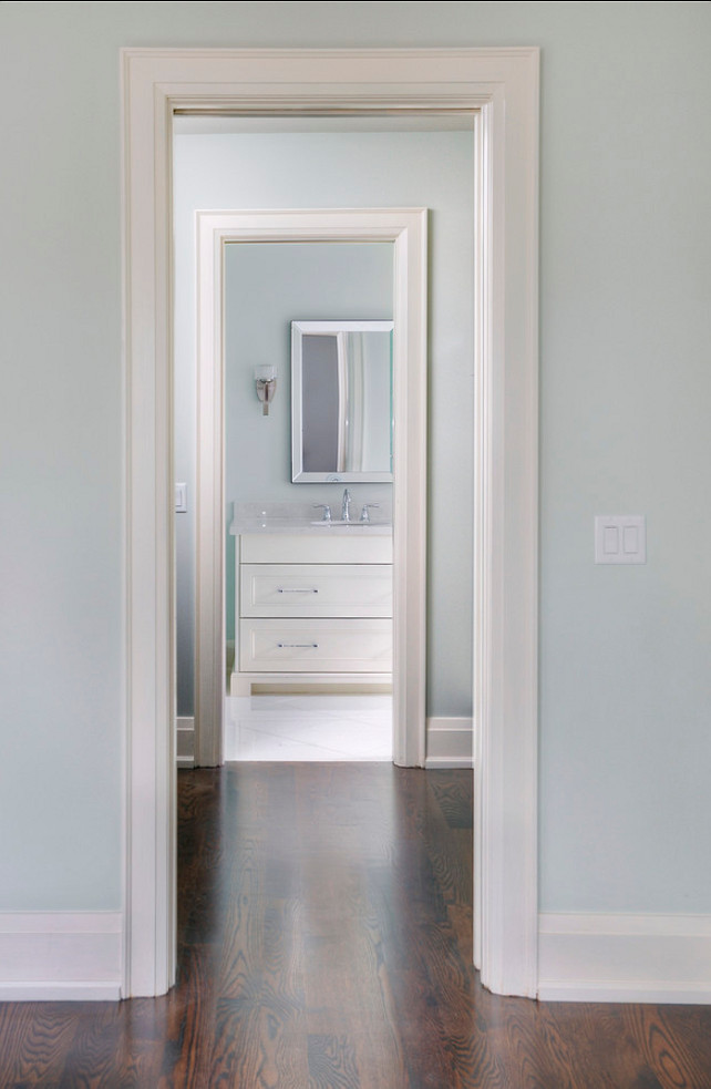 Farrow & Ball 239 Wimborne White. Trim and Cabinet Paint color is Farrow & Ball 239 Wimborne White. #Farrow&Ball #239 #WimborneWhite