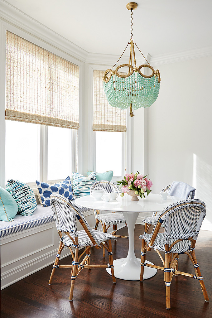 Breakfast Room Chandelier. Amie Corley Interiors.