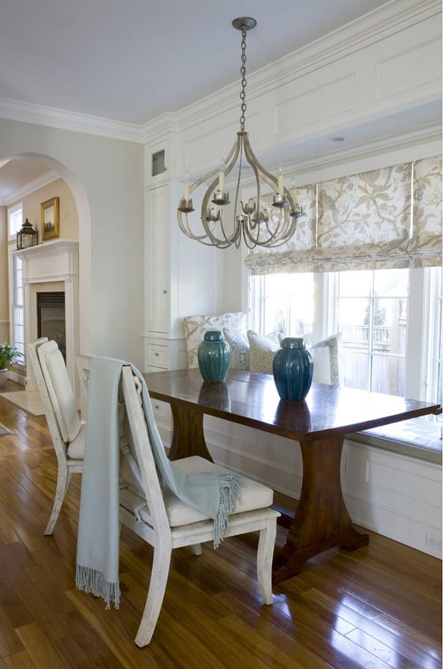 Breakfast Room Lighting. This is a Niermann Weeks chandelier. #BreakfastRoomLighting  2 Ivy Lane