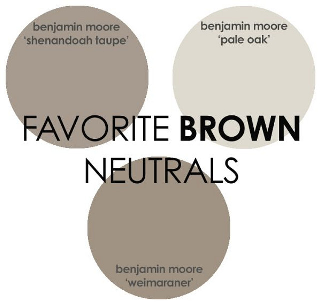 Brown Paint Color Benjamin Moore Shenandoah Taupe Pale