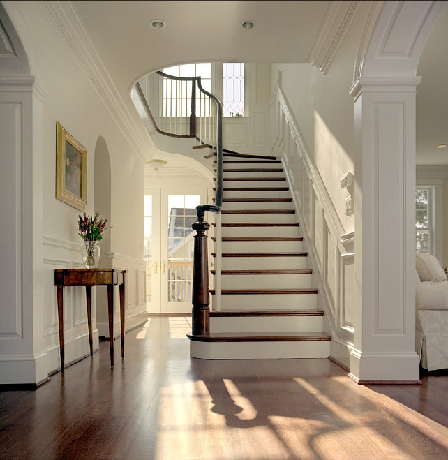 Foyer Paint Benjamin Moore : Paint color ideas home bunch interior design