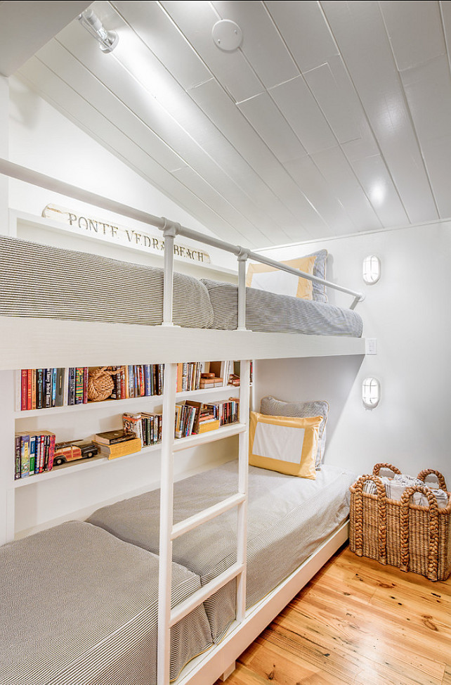 Bunk Room Ideas. Designed by Beach Chic Design Interior Designers & Decorators.