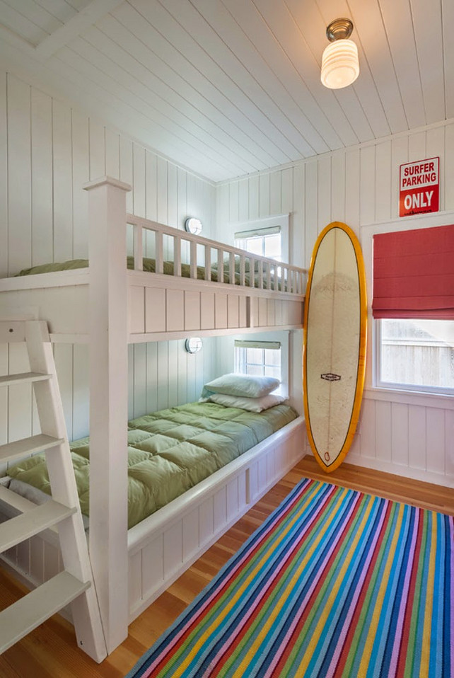 coastal bunk room design ideas this bunk room design is perfect for - Coastal Interior Design Ideas