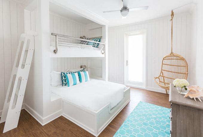 Bunk Room. Laura U Interior Design.