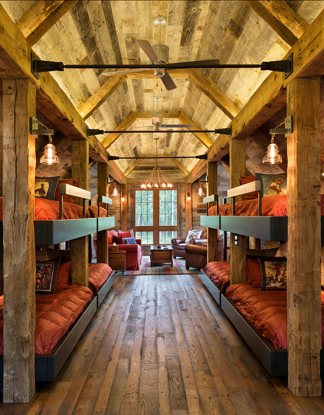 Bunk house with rustic interiors home bunch interior design ideas Rustic style attic design a corner full of passion