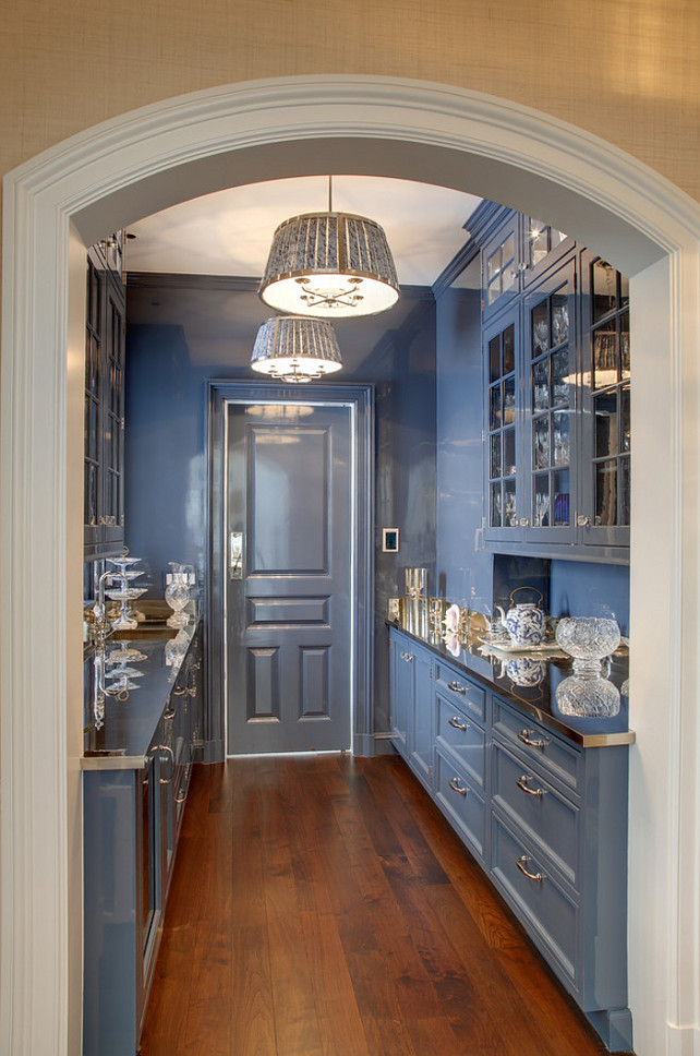 Butler's Pantry Paint Color  #ButlersPantryPaintColor #ButlersPantry #ButlersPantryIdeas #ButlersPantryCabinet  Significant Homes LLC