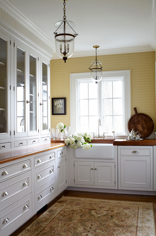 Butler's pantry cabinet. Jules Duffy Designs.