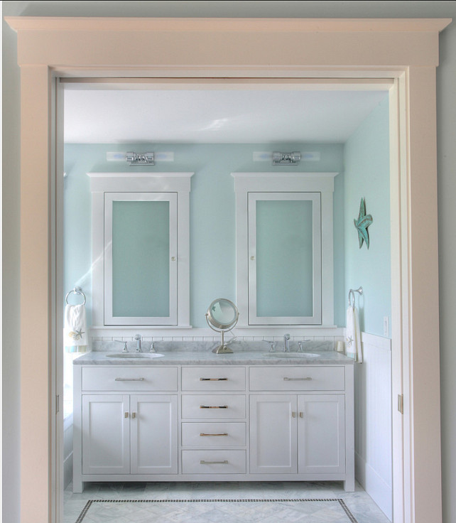 Coastal Bathroom Ideas. #CoastalBathroom