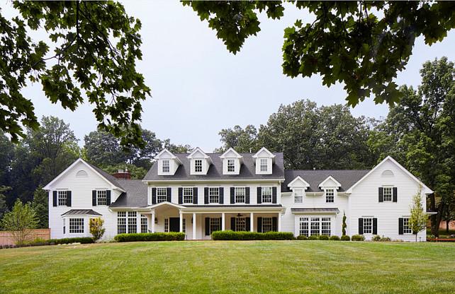 Classic Home Architecture. Classic Home Architecture Exterior. Classic Home Architecture Ideas. #ClassicHome #Architecture #Exterior Martha O'Hara Interiors.
