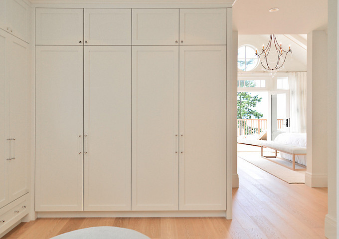 Closet Layout. Walk-in Closet with cabinets. Sunshine Coast Home Design.
