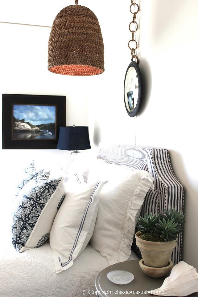 Coastal Bedroom Ideas. Coastal Bedroom Design. #CoastalBedroom Designed by Classic Chic Home.