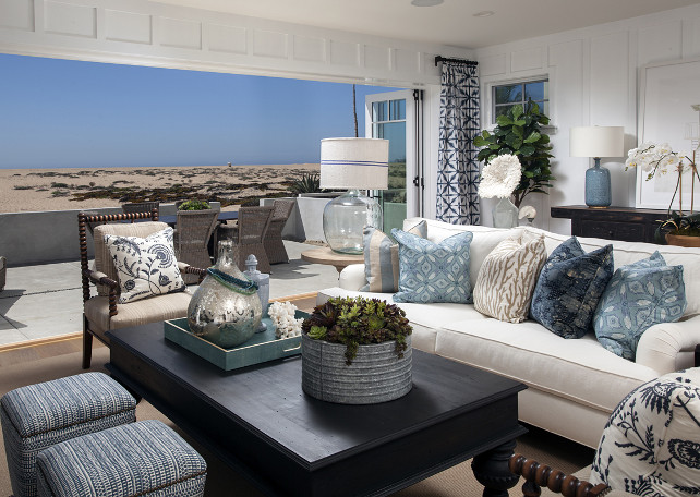 Coastal Decorating Ideas. Coastal Interiors. Coastal Decor. Coastal Color Palette #Coastal #Interiors #CoastalInteriors