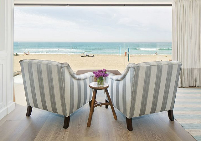 Coastal Interiors with Ocean View. Kelly Nutt Design.
