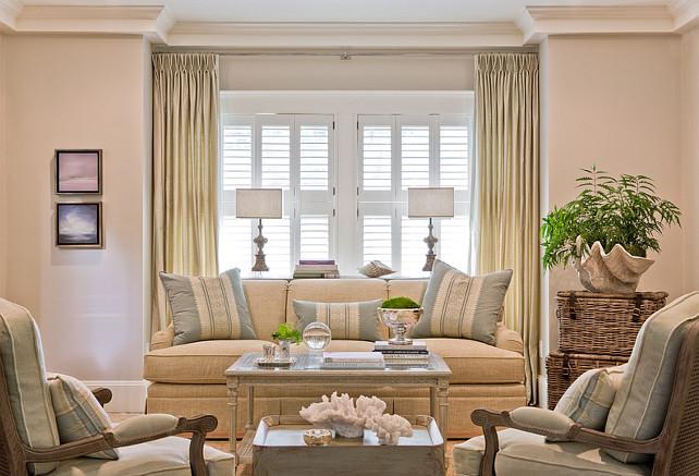 Coastal Living Room. Coastal Living Room Ideas. #Coastal #LivingRoom #CoastalLivingRoom  Anita Clark Design