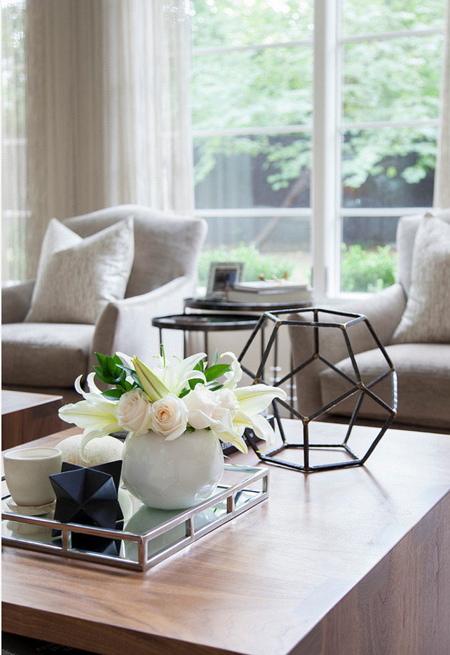 Coffee Table Decorating Ideas. Butter Lutz Interiors, LLC.
