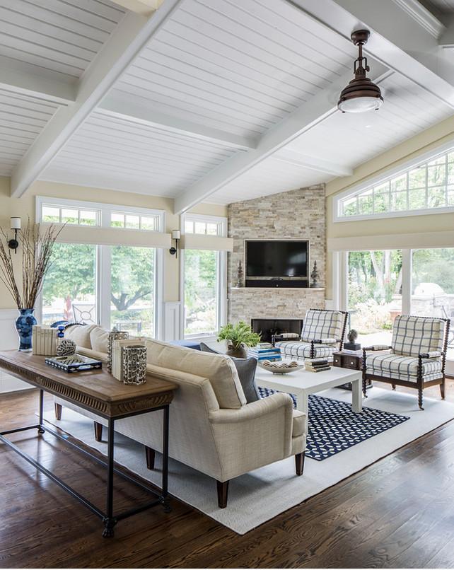 Corner Fireplace. Living room Corner Fireplace. Corner Fireplace ideas. #CornerFireplace Kim E Courtney Interiors & Design Inc.