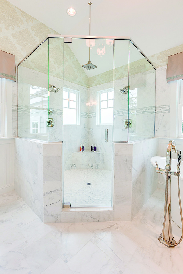 Corner Shower. Corner Bathroom Shower. Corner Bathroom Shower Layout. Corner Bathroom Shower Ideas. Placing a shower in the corner allows you to design a spacious shower with a practical layout. Corner Bathroom Shower Design. #CornerShower #Bathroom #Shower