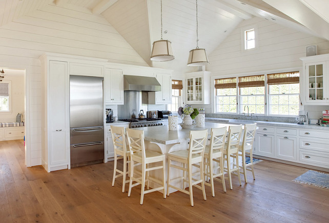 Cottage Kitchen. White Cottage Kitchen. Cottage Kitchen Ideas. Cottage Kitchen Island. Cottage Kitchen Flooring. Cottage Kitchen Pendant Lighting. Cottage Kitchen Shiplap Walls. Cottage Kitchen Countertop. #CottageKitchen #Kitchen