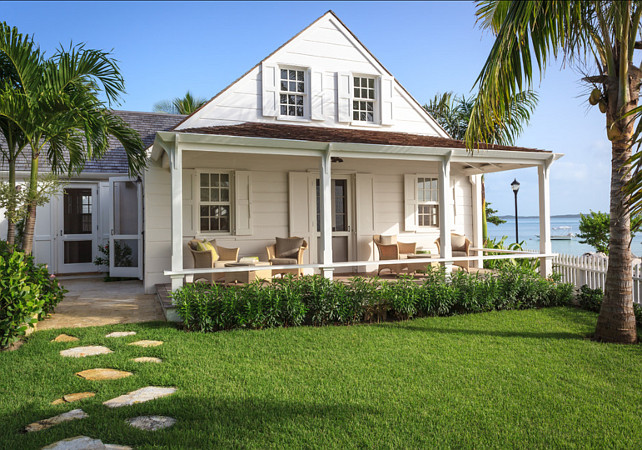Cottage. Beach Cottage Ideas. Dream beach cottage in the Bahamas. #BeachCottage #Cottage