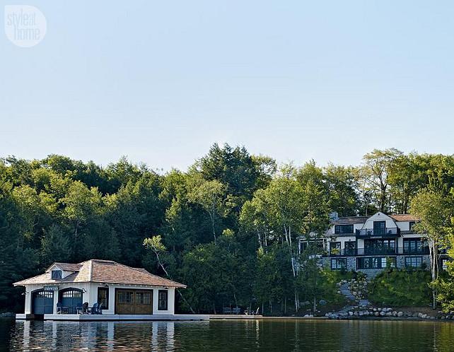 Cottage. Lake Cottage. Luxurious Lake Muskoka, Canada Cottage. #LakeMuskoka #CanadaCottage #Cottage #LakeCottage