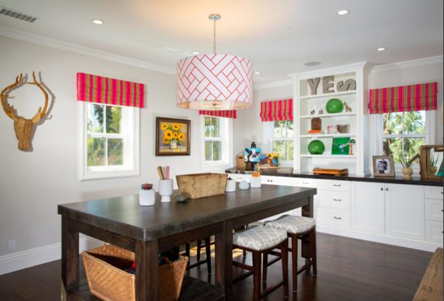 Craft Room. Craft Room Layout Design. #CraftRoom #layout Legacy Custom Homes, Inc.