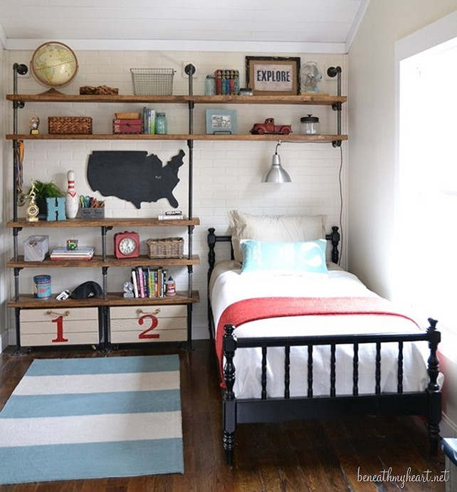 Little Ways to Add Texture to your Home - Home Bunch ... on Small Bedroom Ideas For Boys  id=57722