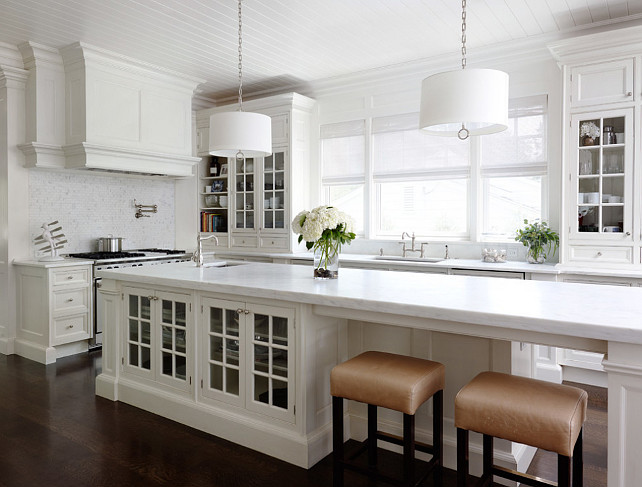 white long narrow kitchen layout pictures to pin on pinterest