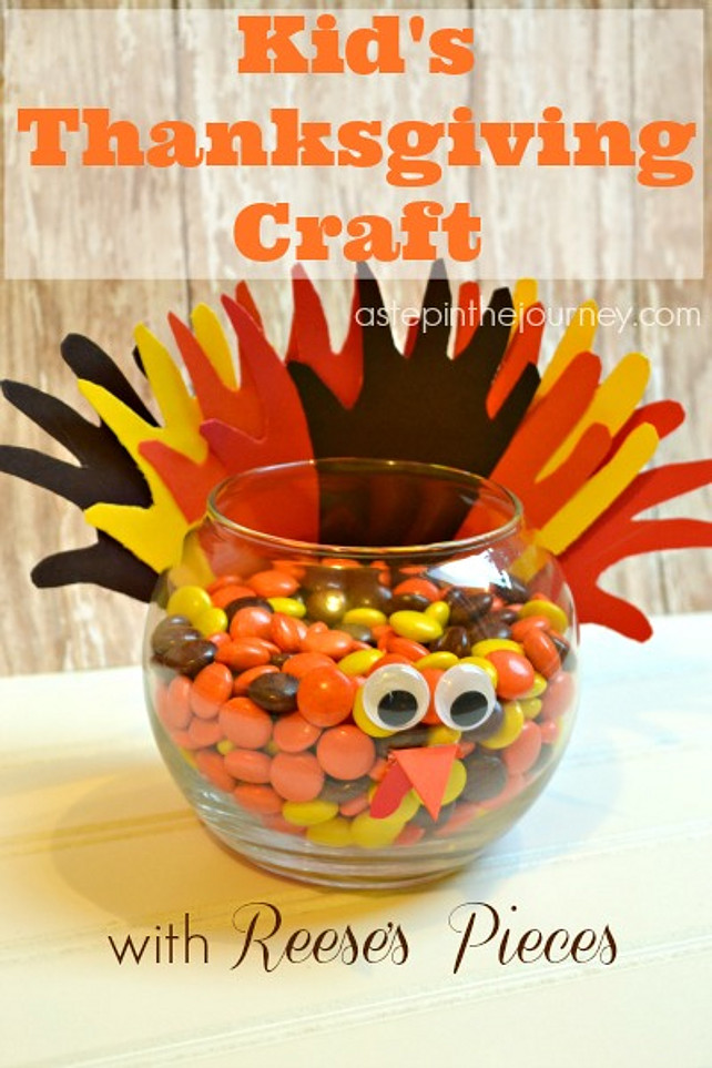 DIY Kids Thanksgiving Projects. DIY Kid's Thanksgiving Craft. Via A Step in  the Journey