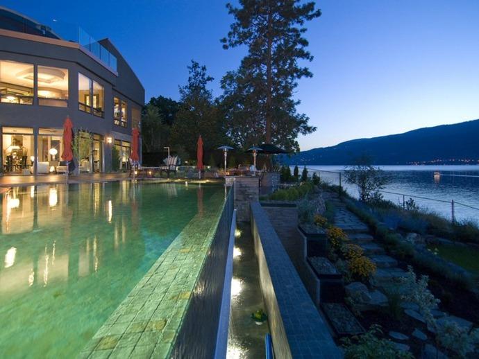 Pinterest fuel okanagan valley homes home bunch for Pool design kelowna