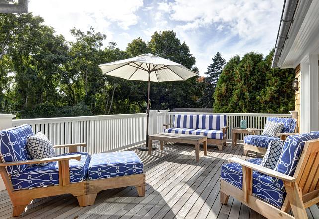 Deck. Deck Furniture. Deck Furniture Ideas. #Deck #DeckFurniture John Hummel and Associates.
