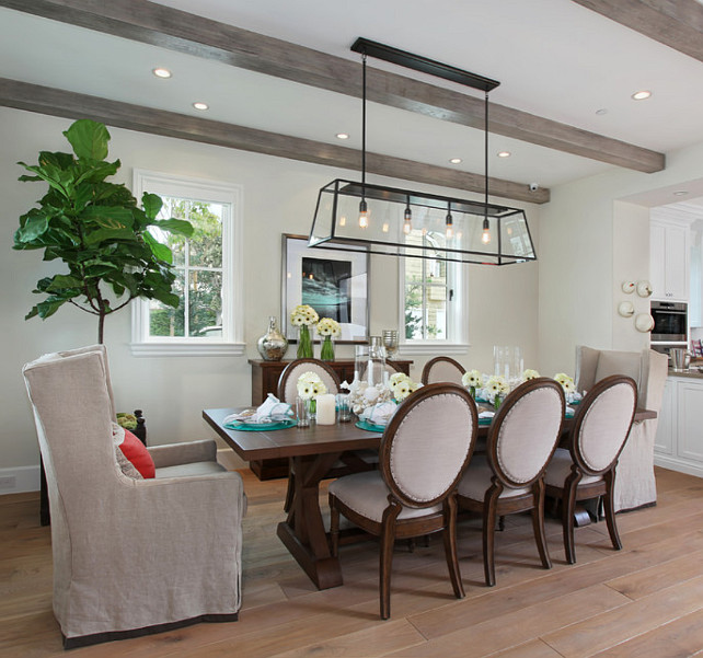 Dining Room Lighting Is The Filament Chandelier From Restoration Hardware