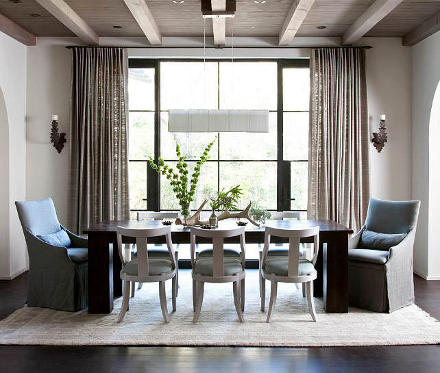 Dining Room Furniture Ideas. Dining Room Color Palette #DiningRoomFurniture #DiningRoom #ColorPalette  Ryan Street & Associates