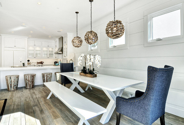 Dining Room and Kitchen. Dining Room and Kitchen Open Concept. Open Concept Dining Room and Kitchen. #DiningRoom #Kitchen #OpenConcept