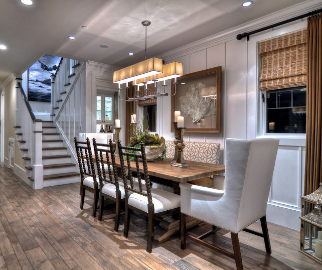 dining room coastal dining room design a mix of eclectic chairs and