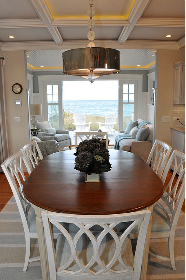 informal dining room ideas dream beach cottage with neutral coastal decor home bunch interior design ideas 5859