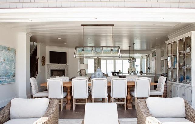 Coastal Dining Room Decor Ideas Diningroom