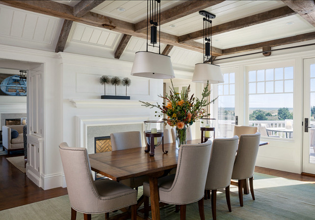Dining Room Coastal With Plenty Of Natural Light And Beautiful Furnishings I