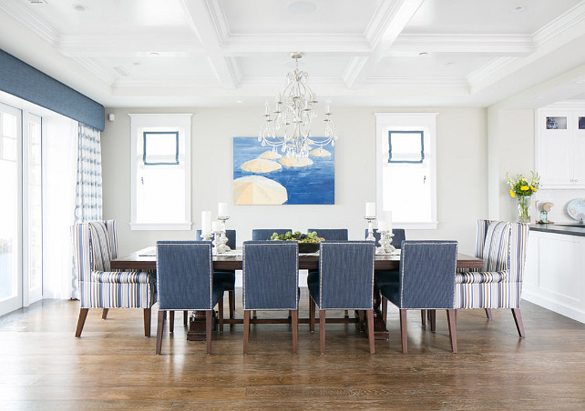 California beach house designed by brandon architects for Dining room recessed lighting ideas