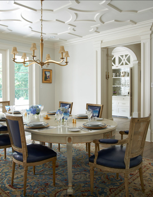 Dining Room. Elegant Dining Room Design