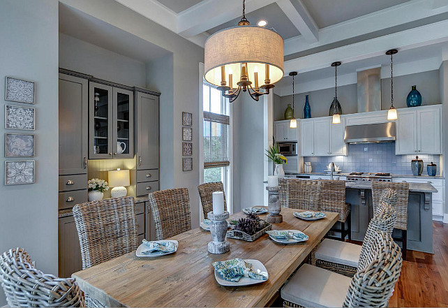 Dining Room. Open Concept Dining Room and Kitchen. Open Concept Dining Room. #DiningRoom