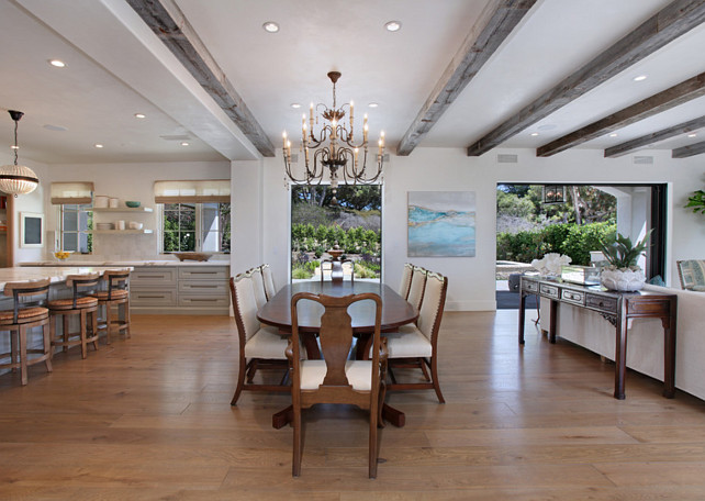 Transitional french interior design home bunch interior for Open floor plan interior design