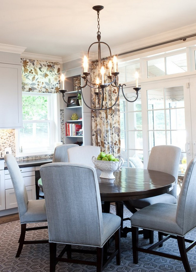 Dining Room. Traditional Dining Room Ideas. Designed by Elizabeth Reich.